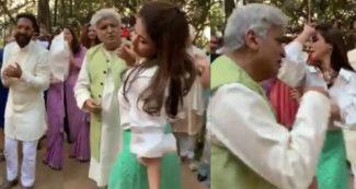 फुल मूड में उर्मिला मातोंडकर के साथ डांस करते दिखे जावेद अख्तर, पत्नी ने बताई 'सच्चाई'