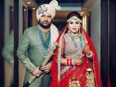 धूमधाम से हुई कपिल शर्मा और गिन्नी चतरथ की शादी, पहली तस्वीर ये रही, दोस्तों ने की जमकर मस्ती