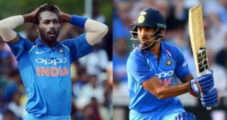 पंड्या और राहुल की जगह टीम इंडिया में इन दो खिलाड़ियों को मिला मौका, एक पहली बार टीम में शामिल