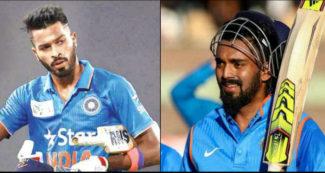 पहले वनडे से पहले टीम इंडिया को लग सकता है बड़ा झटका, राहुल और हार्दिक पंड्या पर इस वजह से बैन की तैयारी