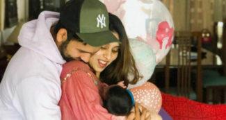 रोहित शर्मा ने पोस्ट की बेहद प्यारी तस्वीर, बेटी के नाम का किया खुलासा