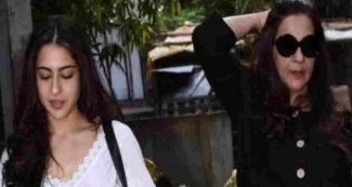 देर रात अचानक पुलिस थाने पहुंची सारा अली खान, मां अमृता सिंह भी थीं साथ, वजह जानकर परिवार परेशान
