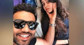 रोहित शर्मा ने पत्नी के साथ पोस्ट की रोमांटिक तस्वीर, रितिका के लिये दिल छू लेने वाली बात