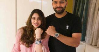 रोहित शर्मा ने बीवी के साथ पोस्ट की तस्वीर, तो चहल ले रहे थे मजे, गब्बर के कमेंट से बोलती बंद