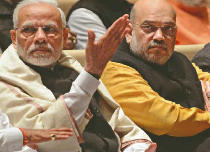 कांग्रेस को बीजेपी का झन्नाटेदार जवाब, पीएम मोदी-शाह यहां बन गये चौकीदार
