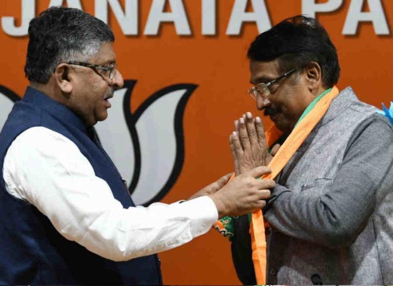 राहुल गांधी के बेहद करीबी नेता बीजेपी में शामिल, रवि शंकर प्रसाद ने किया स्वागत, कांग्रेस को तगड़ा झटका