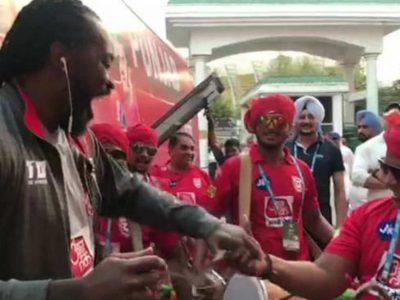 पंजाब ने हैदराबाद को हराया, तो प्रिटी जिंटा की सेल्फी मचा रही धूम, गेल के भांगड़ा ने बांधा समां, वीडियो