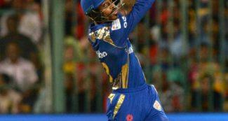 आईपीएल के सबसे कामयाब गेंदबाज की यॉर्कर पर हार्दिक पंड्या का कमाल, धोनी की याद दिला दी, वीडियो