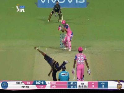 अनलकी तरीके से आउट हुआ ये धाकड़ बल्लेबाज, पलट गया मैच का पासा, वीडियो