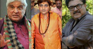 साध्वी प्रज्ञा को उम्मीदवार बनाने पर जावेद अख्तर ने कसा तंज, फिल्म निर्माता के जवाब से हो गई बोलती बंद