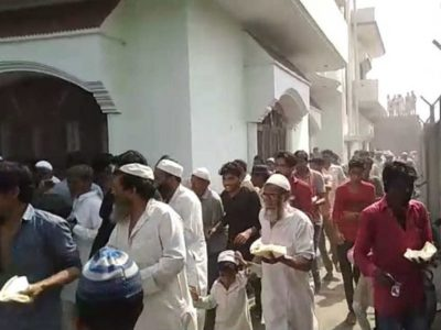 कांग्रेस प्रत्याशी की जनसभा में बिरयानी पर बवाल, जमकर चले लाठी-डंडे, एक-दूसरे पर बरसाये थप्पड़, वीडियो