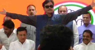 शत्रुघ्न सिन्हा के बयान से सियासी भूचाल, मुश्किल में कांग्रेस, पार्टी ने झाड़ लिया पल्ला