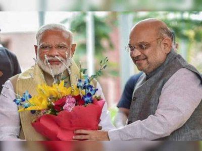 बीजेपी को बढ़त, पार्टी दफ्तर में जश्न, आ सकते हैं पीएम मोदी