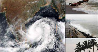 ओडीशा तट पर फैनी का तांडव, 10 हजार गांव प्रभावित, 223 ट्रेनें रद्द एयरपोर्ट बंद, मच सकती है तबाही