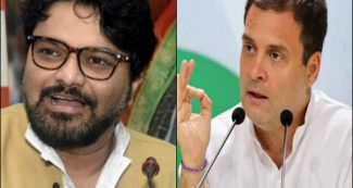 मोदी के मंत्री ने लिखा आएगा तो राहुल गांधी ही, सोशल मीडिया पर लोग ले रहे खूब मजे