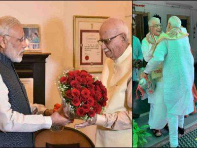 वरिष्ठ जनों को नहीं भूले पीएम मोदी, आडवाणी-जोशी से घर जाकर की मुलाकात, कही बड़ी बात