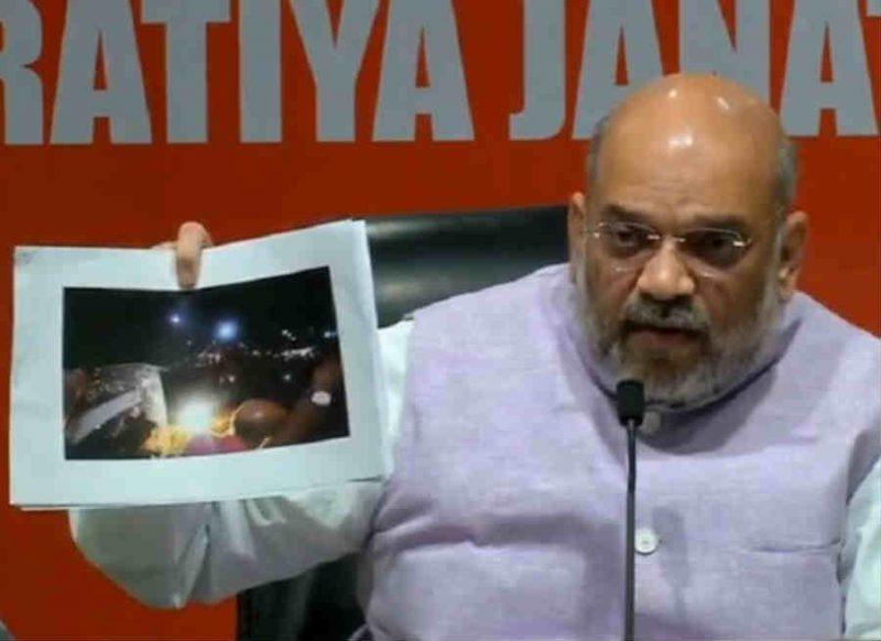 कोलकाता रोड शो में बवाल, अमित शाह ने प्रेस कॉन्फ्रेंस कर दिखाए सबूत, ममता राज को किया 'EXPOSE'