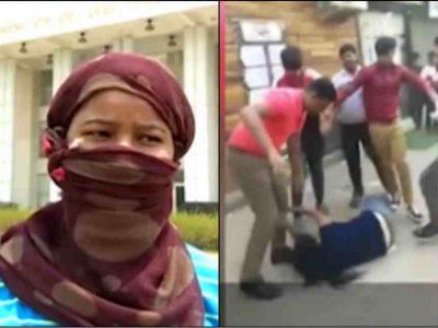 Video: सैलरी मांगने पर मुस्लिम युवक ने युवती को जमकर पीटा, बीच सड़क पर वीडियो बनाते रहे लोग