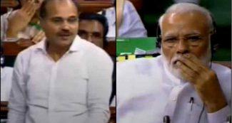 कांग्रेस नेता अधीर रंजन चौधरी ने किया PM मोदी के लिए अपशब्दों का इस्तेमाल, तुरंत माफी मांगें