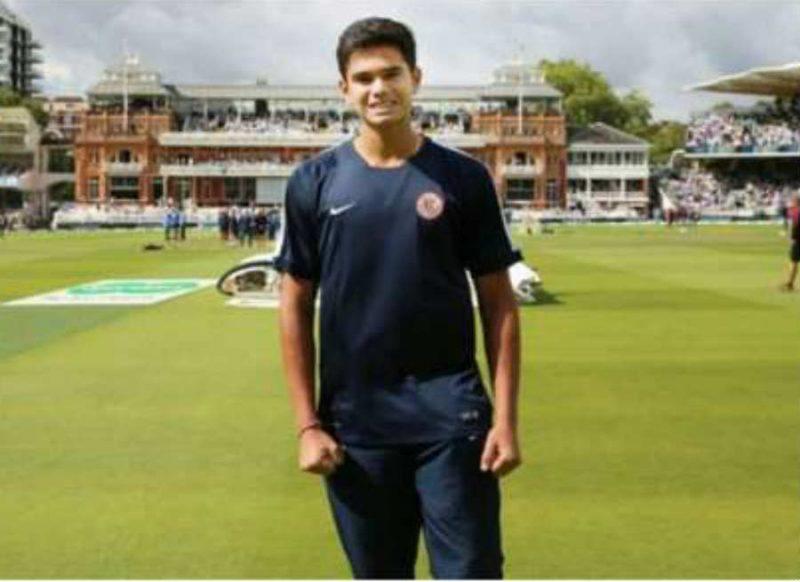 विश्वकप में भारतीय टीम के बजाय इस टीम की मदद कर रहे हैं सचिन के बेटे अर्जुन तेंदुलकर, वीडियो