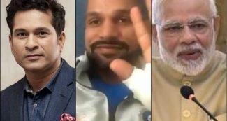शिखर धवन को लेकर पीएम मोदी ने किया ट्वीट, तो सचिन तेंदुलकर ने कह दी बड़ी बात
