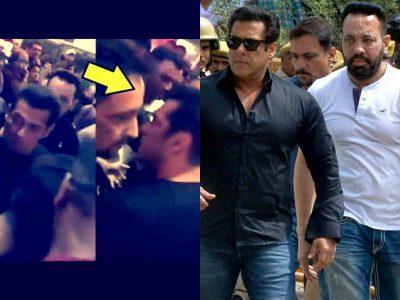 सलमान खान ने बॉडीगार्ड को मारा थप्पड़, वीडियो आया सामने, अब शेरा ने बताया असल में क्या हुआ था