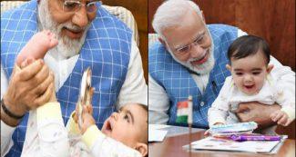 पढिये कौन है ये बच्चा, जिसके साथ संसद में खेलने लगे पीएम मोदी, तस्वीरें