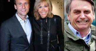 पत्नी पर कमेंट से झल्लाए फ्रांस के राष्ट्रपति मैक्रों, ब्राजील के राष्ट्रपति को दिया करारा जवाब