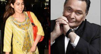 सारा अली खान के इस काम से बेहद खुश हैं रिषी कपूर, सबके सामने कर दी तारीफ