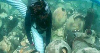 1700 साल पहले डूबे समुद्री जहाज का पता चला, अंदर से मिलीं बेहद कीमती चीजें