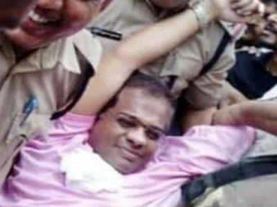 420 के केस में पूर्व सीएम के बेटे गिरफ्तार, भड़के नेता ने कहा 'कानून नहीं जंगलराज'