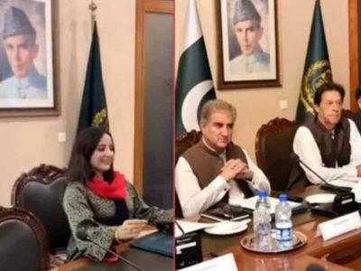ये लो, इमरान खान इस्तीफे से इनकार करते रहे उधर कुर्सी इन मोहतरमा ने हथिया ली