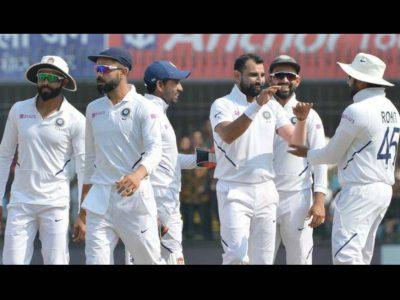 तीसरे ही दिन पारी और 130 रनों से हारी बांग्लादेश, शमी की धारदार गेेंदबाजी