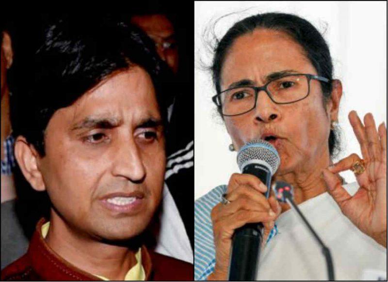 बीजेपी नेता की पिटाई पर फूटा कुमार विश्वास का गुस्सा, ममता दीदी पर चलाये शब्दों के तीखे बाण