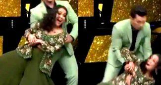 Indian Idol में नेहा कक्कड़ के साथ आदित्य नारायण ने कर दी ऐसी हरकत, Video लाखों लोगों ने देखा