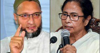 ममता बनर्जी ने AIMIM चीफ को जमकर लताड़ा, तो ओवैसी ने भी किया पलटवार, BJP पर पूछा सवाल