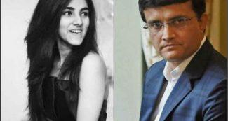 पिता सौरव गांगुली की एक नहीं सुनती बेटी सना, सोशल मीडिया पर कर दी ऐसी हरकत