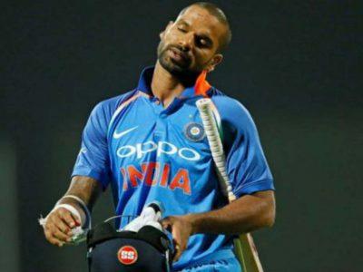 टीम इंडिया को बड़ा झटका, वेस्टइंडीज सीरीज से शिखर धवन बाहर, इस खिलाड़ी को मौका!