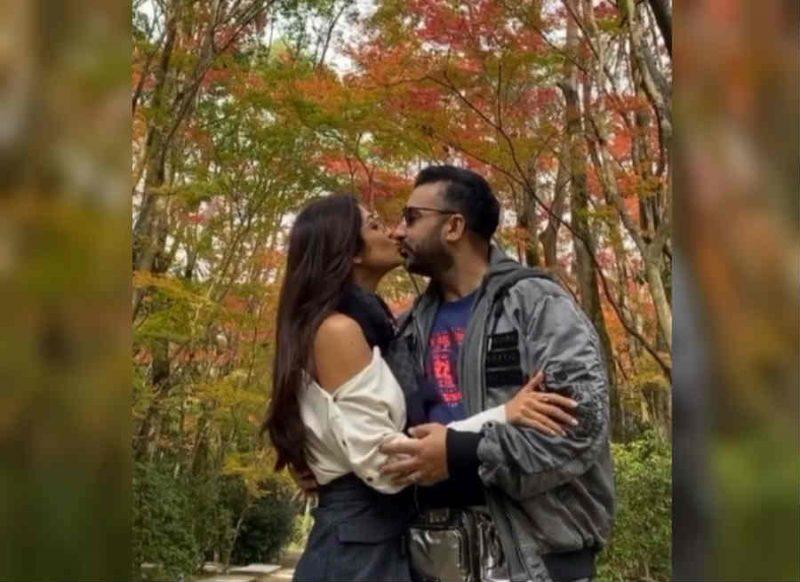 शादी की 10वीं सलगिरह पर शिल्पा शेट्टी ने पति को पब्लिकली किया Lip-Kiss, इंटरनेट तोड़ रहा Video