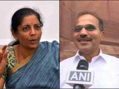 PM, HM के बाद अब FM पर जुबानी हमला, कांग्रेस नेता अधीर रंजन चौधरी के बयान पर बवाल