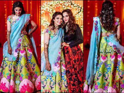 Photos: पूर्व क्रिकेटर की बहू बनने जा रही है अनम, मेहंदी में सानिया मिर्जा के Look ने ढाया कहर