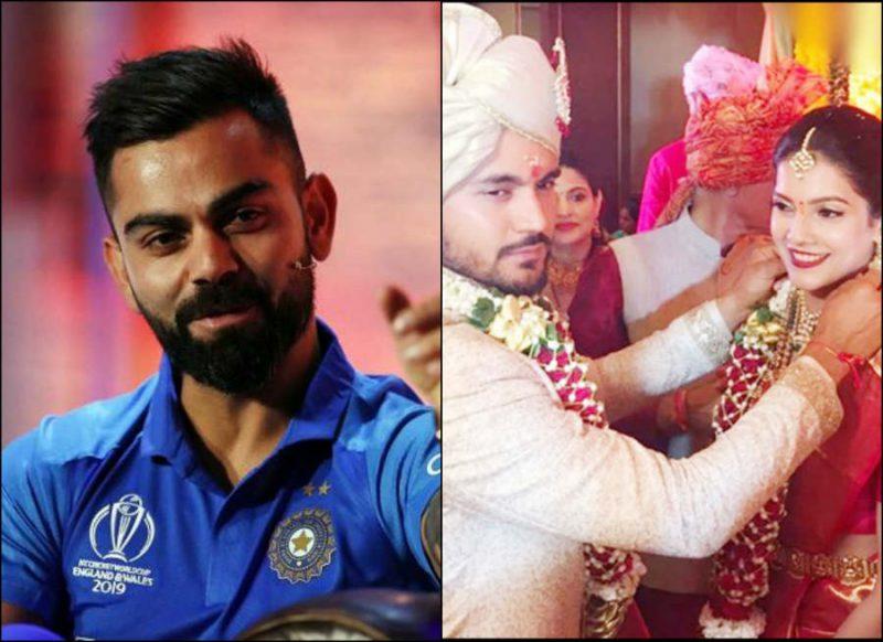 विराट कोहली ने मजेदार ट्वीट कर मनीष पांडे को दी शादी की बधाई