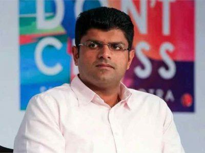 हरियाणा में हलचल, BJP के सहयोगी दल JJP में बगावत, शीर्ष नेता ने दुष्यंत को थमाया इस्तीफा