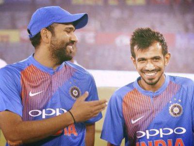 रोहित शर्मा ने युजवेन्द्र चहल को किया ट्रोल, पोस्ट की ऐसी तस्वीर, स्पिन गेंदबाज ने दिया मजेदार जवाब