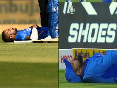 टीम इंडिया की बढी मुश्किलें, रोहित-धवन को लेकर नया अपडेट, खेलने पर सस्पेंस