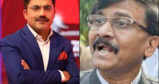 इंदिरा गांधी पर दिये बयान पर संजय राउत ने मारा यू-टर्न, तो रोहित सरदाना ने बताई अंदर की बात