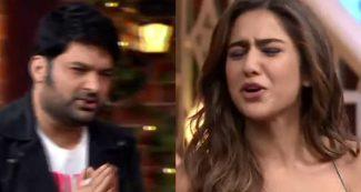 अपने ही शो में कपिल शर्मा को सारा अली खान से हाथ जोड़कर मांगनी पड़ी माफी, ये है कारण, वीडियो