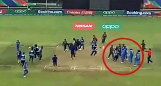 अंडर 19 विश्वकप- बांग्लादेशी खिलाड़ियों के सिर चढा जीत का भूत, भारतीयों से की बदसलूकी, वीडियो