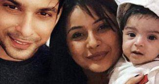 शहनाज और क्यूट सी बच्ची के साथ नजर आए सिद्धार्थ शुक्ला, वायरल हो रही है तस्वीर
