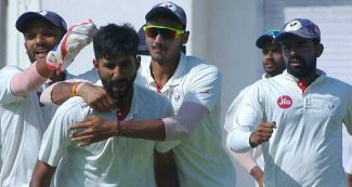 बुमराह के दोस्त ने मचाई खलबली, पहले बल्ले से किया कमाल, फिर गेंद से धमाल, 9 रन पर आधी टीम समेट दी